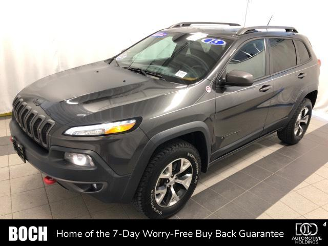 Pre-Owned 2015 Jeep Cherokee 4WD 4dr Trailhawk