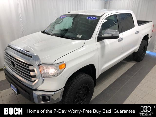 Pre-Owned 2017 Toyota Tundra 4WD Limited CrewMax 5.5' Bed 5.7L