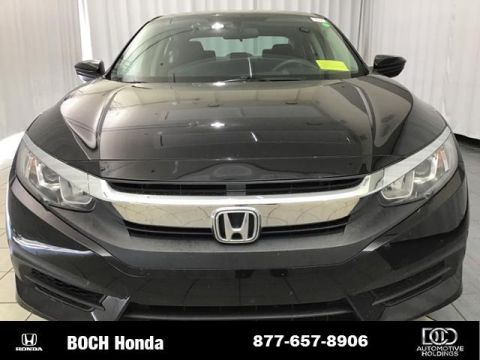 Pre-Owned 2017 Honda Civic LX CVT FWD 4dr Car