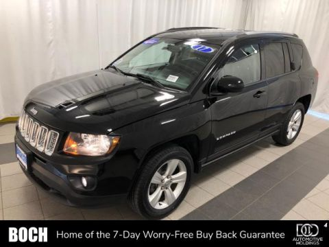 Pre-Owned 2017 Jeep Compass Latitude 4x4 *Ltd Avail* 4WD
