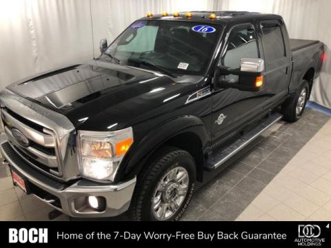 Pre-Owned 2016 Ford Super Duty F-350 SRW 4WD Crew Cab 156 Lariat 4WD