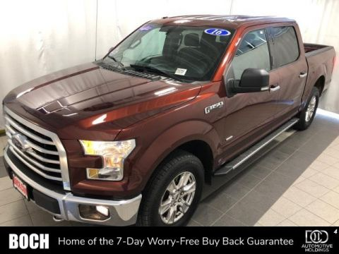 Pre-Owned 2016 Ford F-150 4WD SuperCrew 145 XLT
