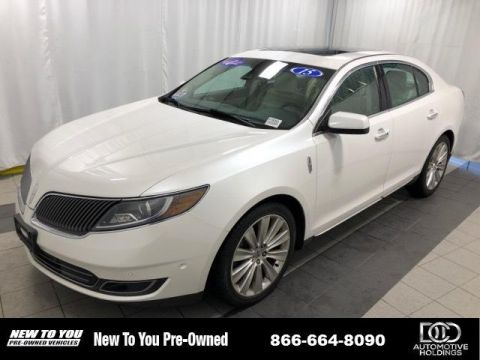 Pre-Owned 2015 Lincoln MKS 4dr Sdn 3.5L AWD EcoBoost With Navigation & AWD