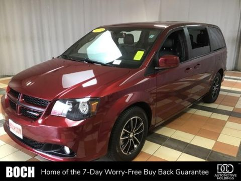Pre-Owned 2018 Dodge Grand Caravan GT Wagon With Navigation