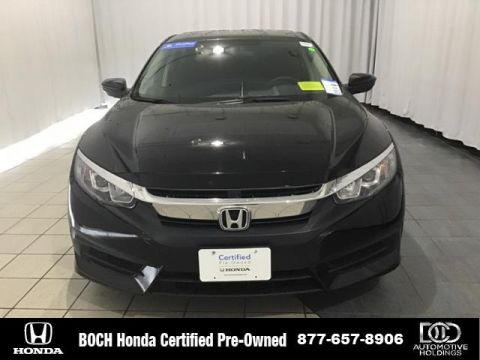 Certified Pre-Owned 2018 Honda Civic LX CVT FWD 4dr Car