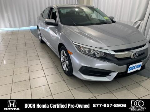 Certified Pre-Owned 2016 Honda Civic 4dr CVT LX FWD 4dr Car