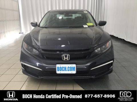 Certified Pre-Owned 2019 Honda Civic LX CVT FWD 4dr Car