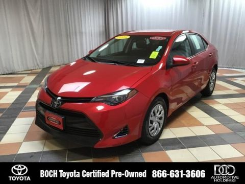 Certified Pre-Owned 2018 Toyota Corolla LE CVT FWD 4dr Car