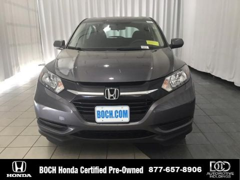 Certified Pre-Owned 2018 Honda HR-V LX AWD CVT AWD