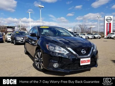 Certified Pre-Owned 2017 Nissan Sentra SL CVT With Navigation