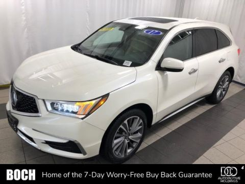 Pre-Owned 2017 Acura MDX SH-AWD w/Technology Pkg With Navigation & AWD