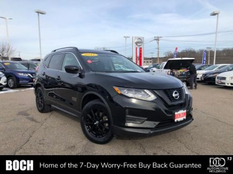 Certified Pre-Owned 2017 Nissan Rogue AWD SV AWD