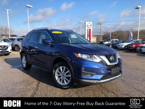 Certified Pre-Owned 2018 Nissan Rogue AWD SV AWD