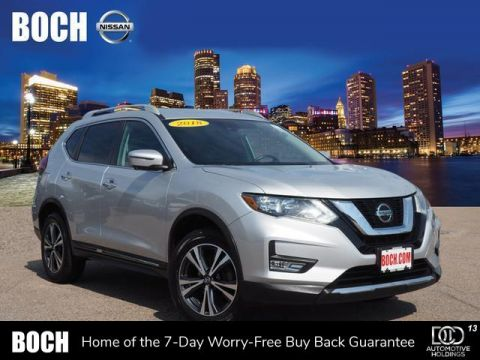 Certified Pre-Owned 2018 Nissan Rogue AWD SL With Navigation & AWD