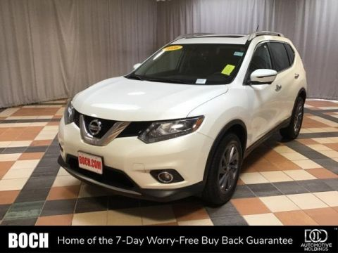 Pre-Owned 2016 Nissan Rogue AWD 4dr SL With Navigation & AWD