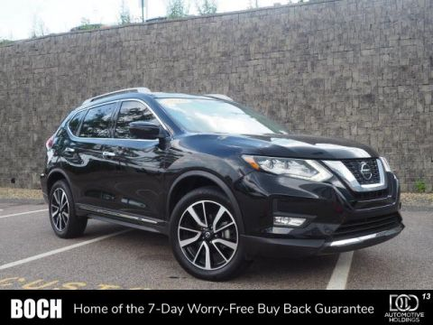 Certified Pre-Owned 2019 Nissan Rogue AWD SL