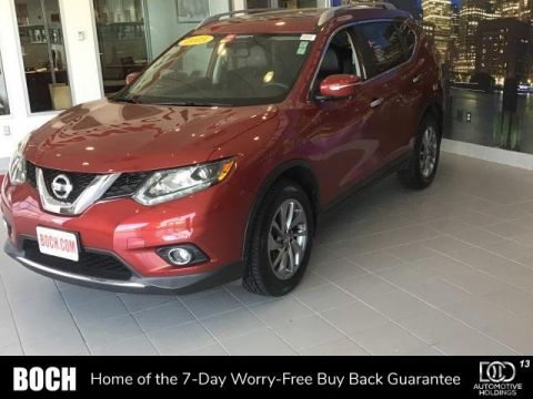 Certified Pre-Owned 2015 Nissan Rogue AWD 4dr SL