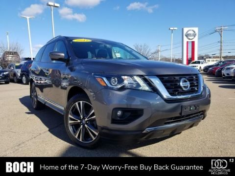 Certified Pre-Owned 2017 Nissan Pathfinder 4x4 Platinum With Navigation & 4WD