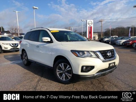 Certified Pre-Owned 2017 Nissan Pathfinder 4x4 SV 4WD