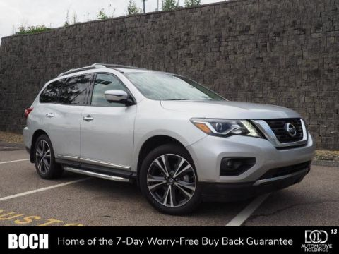 Pre-Owned 2018 Nissan Pathfinder 4x4 Platinum