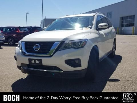 Certified Pre-Owned 2017 Nissan Pathfinder 4x4 SL With Navigation & 4WD