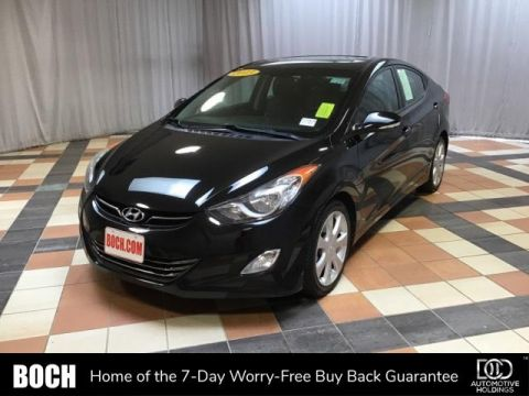 Pre-Owned 2013 Hyundai Elantra 4dr Sdn Auto Limited PZEV With Navigation