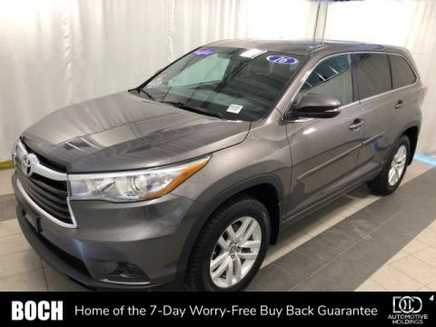 Pre-Owned 2016 Toyota Highlander AWD 4dr V6 LE AWD