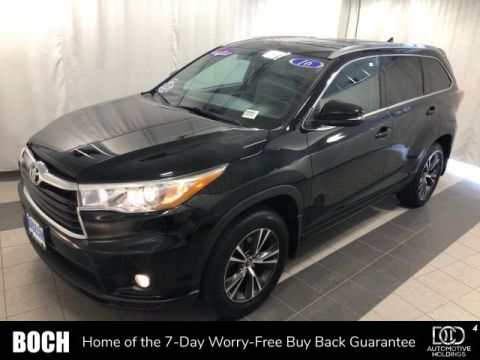 Pre-Owned 2016 Toyota Highlander AWD 4dr V6 XLE With Navigation & AWD