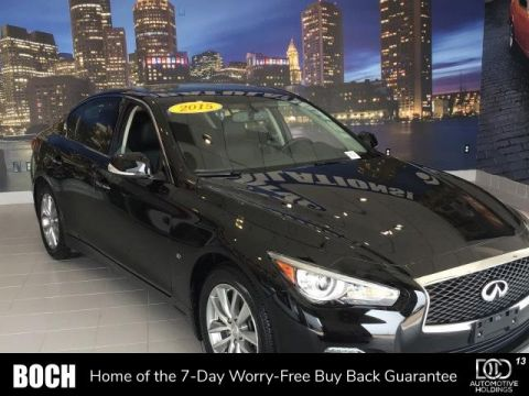 Pre-Owned 2015 INFINITI Q50 4dr Sdn Premium AWD