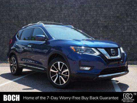 Certified Pre-Owned 2018 Nissan Rogue AWD SL