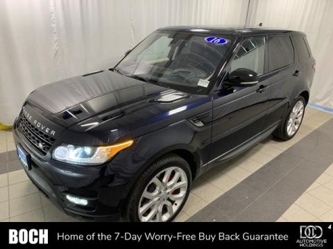 Pre-Owned 2016 Land Rover Range Rover Sport 4WD 4dr V8 With Navigation & 4WD