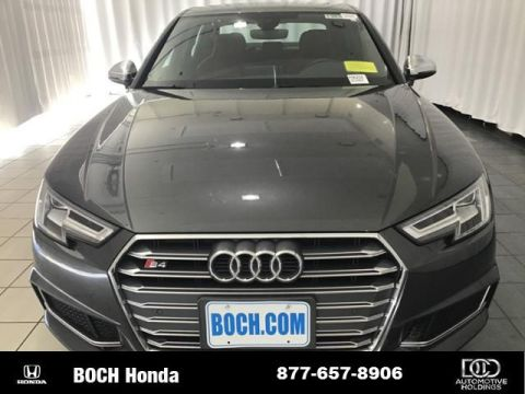 Pre-Owned 2018 Audi S4 3.0 TFSI Premium Plus quattro AWD With Navigation & AWD