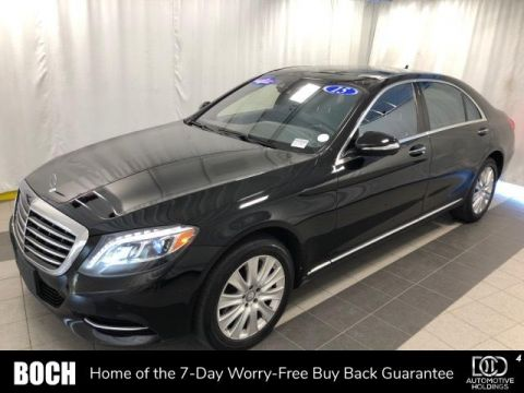 Pre-Owned 2015 Mercedes-Benz S-Class 4dr Sdn S 550 4MATIC® With Navigation & AWD