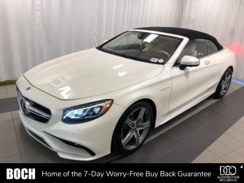 2017 Mercedes-Benz S-Class AMG® S 63 4MATIC Cabriolet
