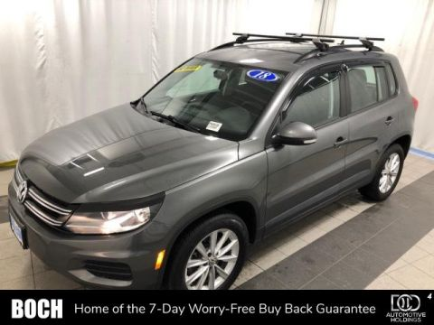 Pre-Owned 2018 Volkswagen Tiguan Limited 2.0T 4MOTION AWD